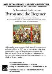 Byron and the Regency